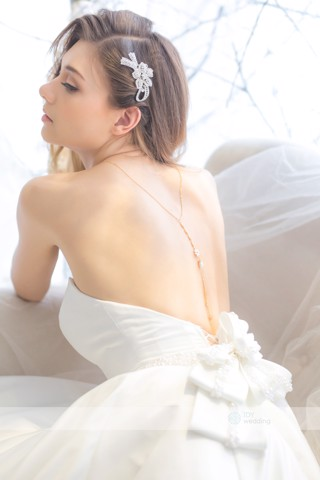 Dây chuyền Back Chain Necklace Wedding BCNW MS09