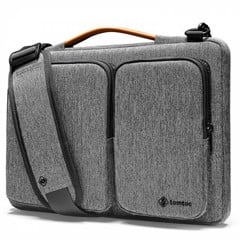 TÚI ĐEO TOMTOC A42 (USA) 360* SHOULDER BAGS MACBOOK PRO 13″NEW/MACBOOK AIR13″ 2019 GRAY