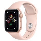 Apple Watch SE GPS 40mm MYDN2VN/A Gold Aluminium Case with Pink Sand Sport Band