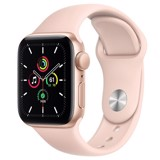 Apple Watch SE GPS 44mm MYDR2VN/A Gold Aluminium Case with Pink Sand Sport Band