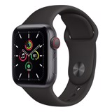 Apple Watch SE GPS + Cellular 44mm MYF02VN/A Space Gray Aluminium Case with Black Sport Band