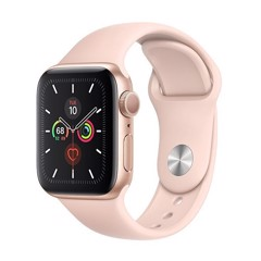 Apple Watch Series 5 GPS 40mm MWV72 (Gold Aluminum Case with Pink Sand Sport Band)