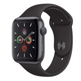 Apple Watch Series 5 GPS  44mm MWVF2 (Space Gray Aluminum Case with Black Sport Band)