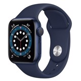 Apple Watch Series 6 GPS 40mm MG143VN/A Blue Aluminium Case with Deep Navy Sport Band