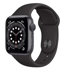 Apple Watch Series 6 GPS 40mm MG133VN/A Space Gray Aluminium Case with Black Sport Band