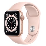 Apple Watch Series 6 GPS 44mm M00E3VN/A Gold Aluminium Case with Pink Sand Sport Band