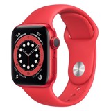 Apple Watch Series 6 GPS 44mm M00M3VN/A Red Aluminium Case with PRODUCT (RED) Sport Band