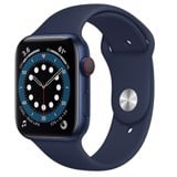 Apple Watch Series 6 GPS + Cellular 44mm M09A3VN/A Blue Aluminium Case with Deep Navy Sport Band