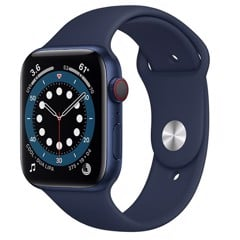 Apple Watch Series 6 GPS + Cellular 40mm M06Q3VN/A Blue Aluminium Case with Deep Navy Sport Band