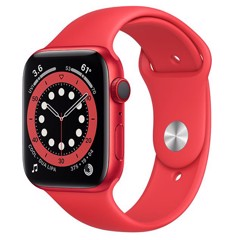 Apple Watch Series 6 GPS + Cellular 44mm M09C3VN/A RED Aluminium Case with PRODUCT(RED) Sport Band