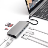 Bộ chia cổng Le Touch USB-C 8 in 1 type-C Combo Hub