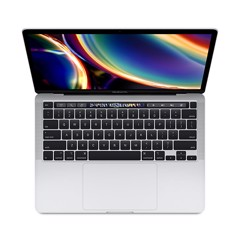 MacBook Pro MXK62SA/A 13in Touch Bar 256GB Silver- 2020 (Apple VN)