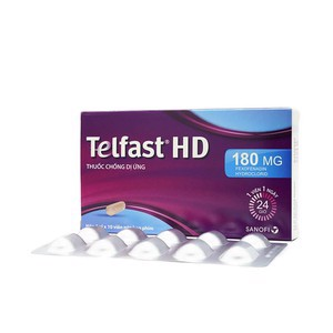 Telfast 180mg HD H1 vỉ*10v