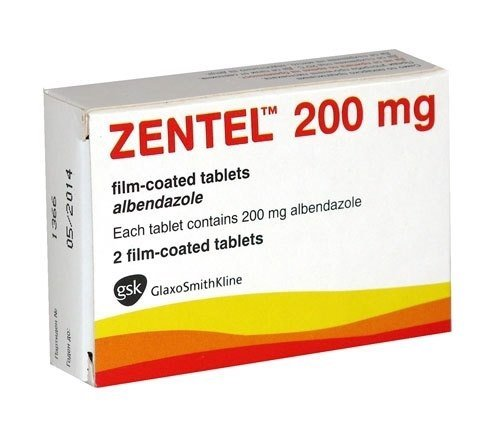 Zentel tablets 200mg