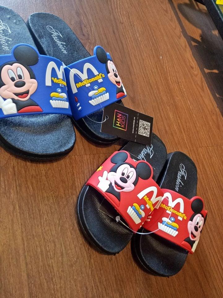 Dép nhựa Mickey 175-195