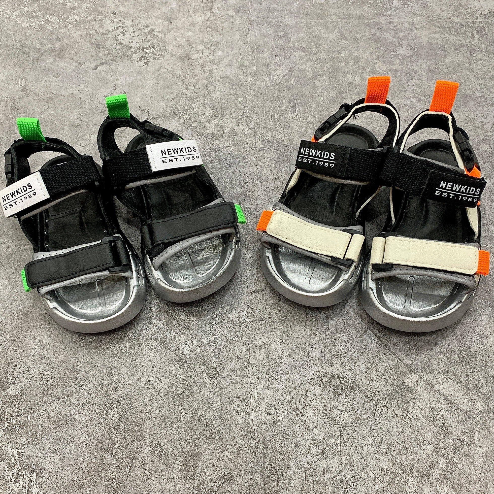 Sandal đế 2 màu quai in NEWKIDS EST1989