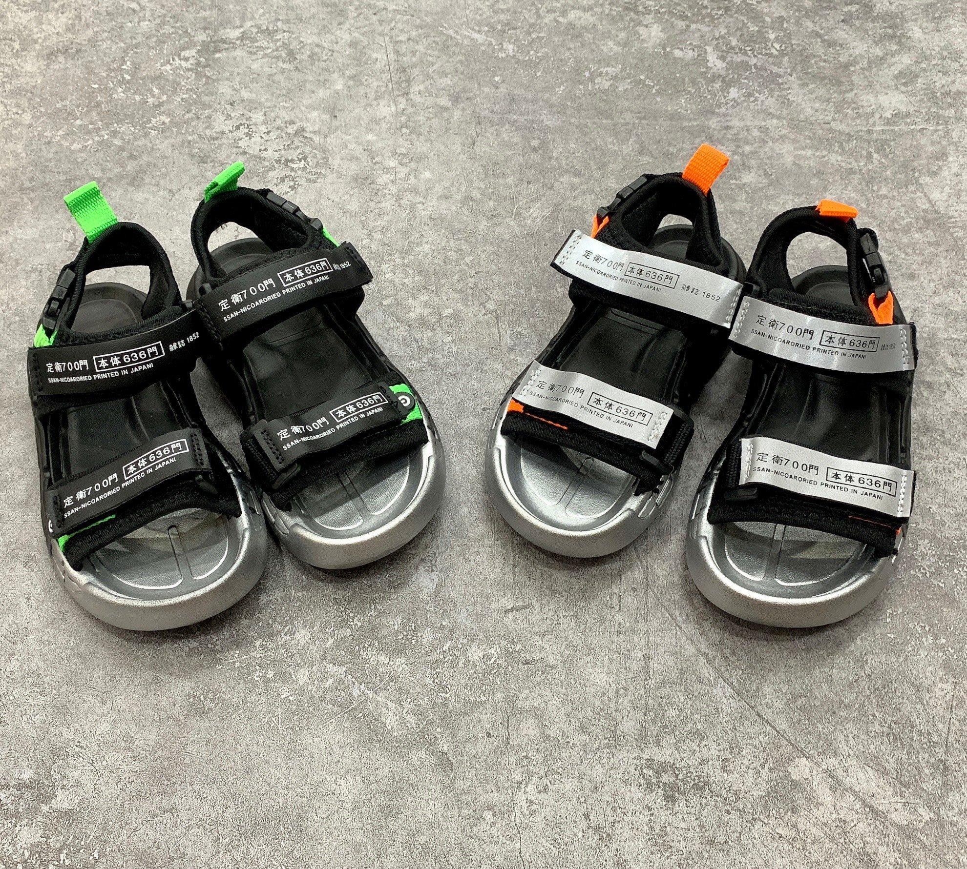 Sandal đế 2 màu quai chữ nhật 700 636