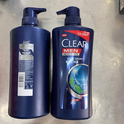 Clear Men DG Cool Sport bạc hà 630g