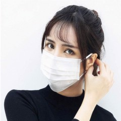 Antibacterial cloth  mask 3 layer, 4  dimensions