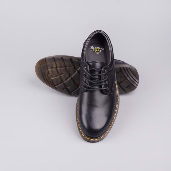 Giày da nam Dr.marten xuất dư xịn cá tính siêu bền - Màu đen