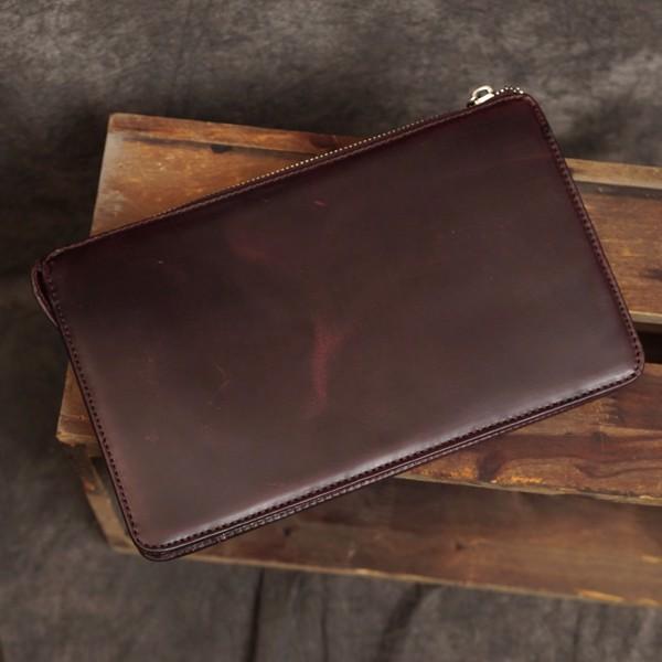 Clutch cầm tay da bò đa năng đựng Ipad Mini - 2310215