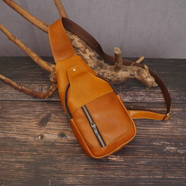 Túi bao tử da bò thủ công - 001122