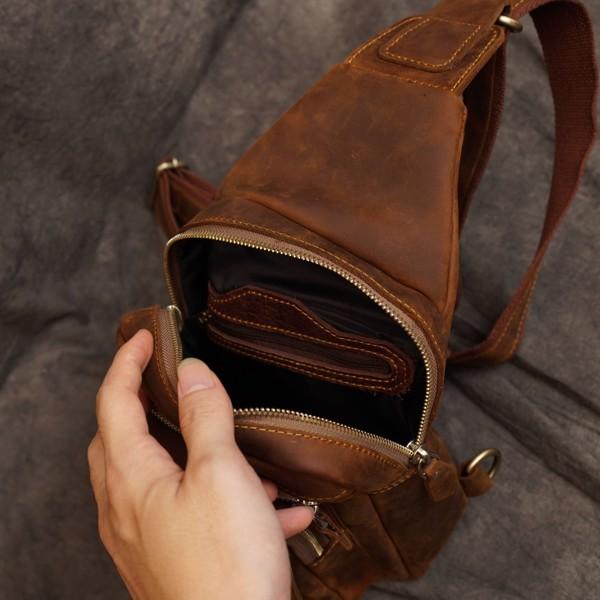 Túi bao tử da sáp ngựa điên - 2999216