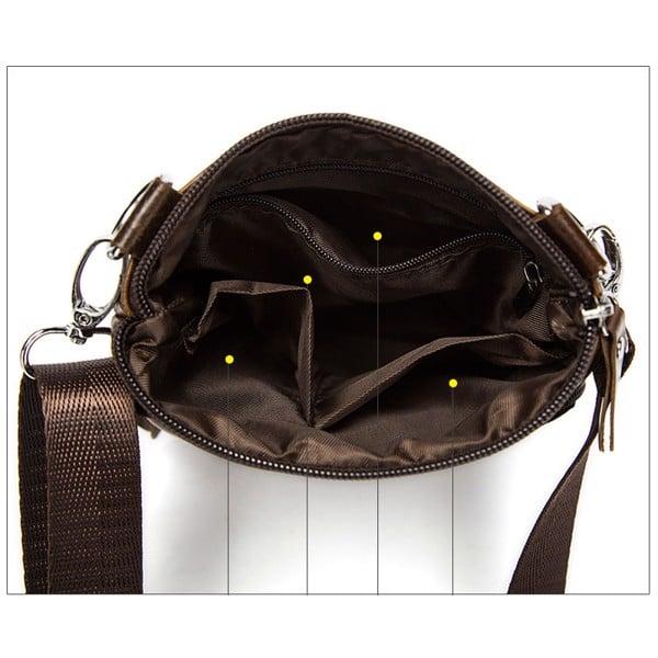 Túi đeo chéo nam da thật 100% đẹp cá tính - 93427