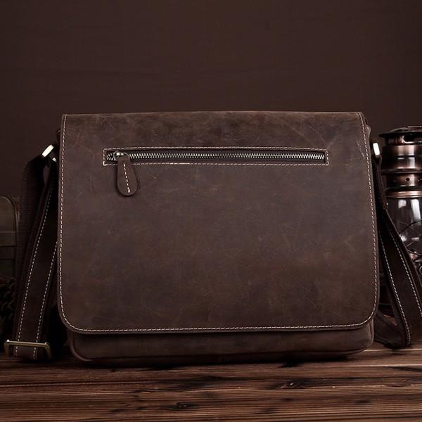 Túi đeo chéo dáng ngang da sáp đa năng - 2090085
