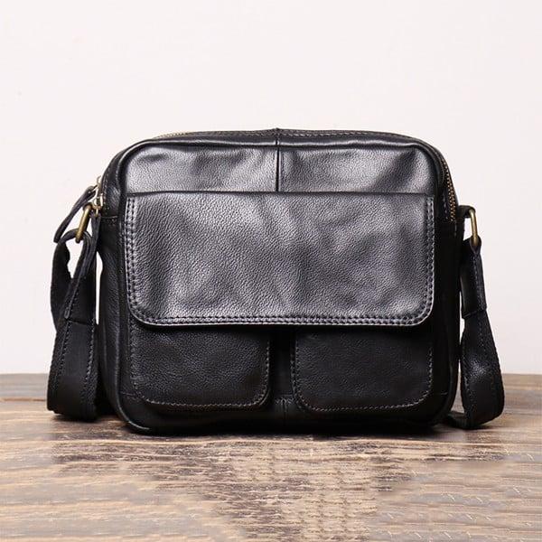 Túi đeo chéo dáng ngang đa năng da thật - 2118326