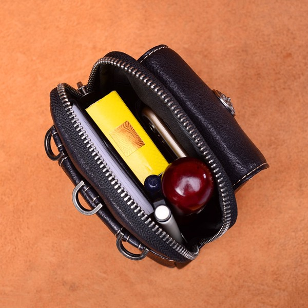 Túi đeo chéo nhỏ gọn da thật cao cấp - 2114678