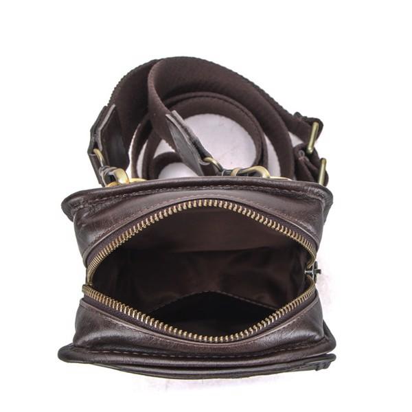 Túi đeo hông, đeo chéo da thật - 6195058