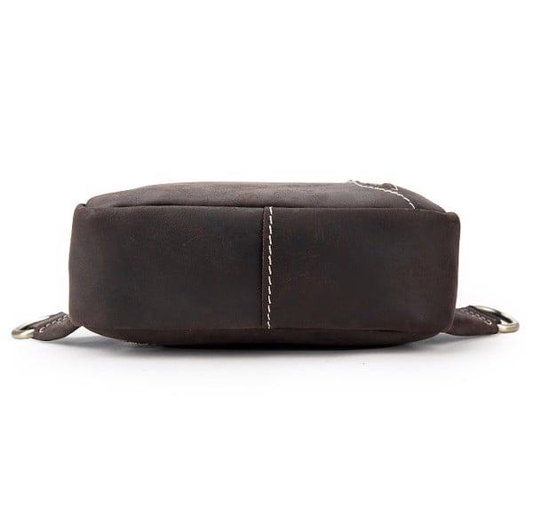 Túi đeo ngực, đeo chéo da sáp nam - 2090076