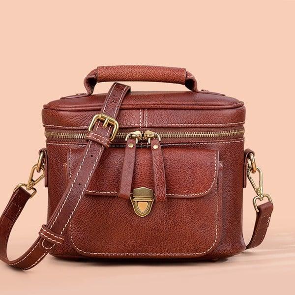 Túi xách da nữ dáng hộp nhỏ gọn - 2085756