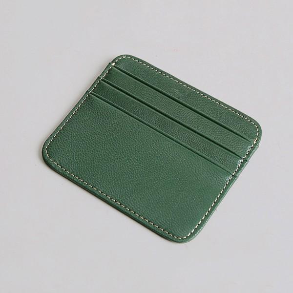 Ví da Mini đựng thẻ đơn giản - 2135753