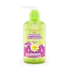 Sữa Tắm Gội Purité Baby Cúc La Mã |  Natural 2in1 Baby Wash Chamomile