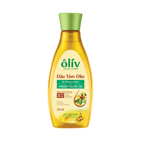 Dầu Tắm Ôliv Virgin Olive Oil 250ml | Virgin Olive Oil Shower Oil 250ml