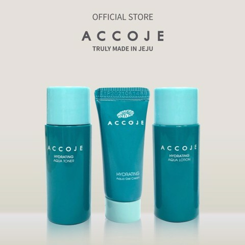 Bộ Trial Kit Accoje 23ml (1 Toner 9ml, 1 Lotion 9ml và 1 Gel Cream 5ml)