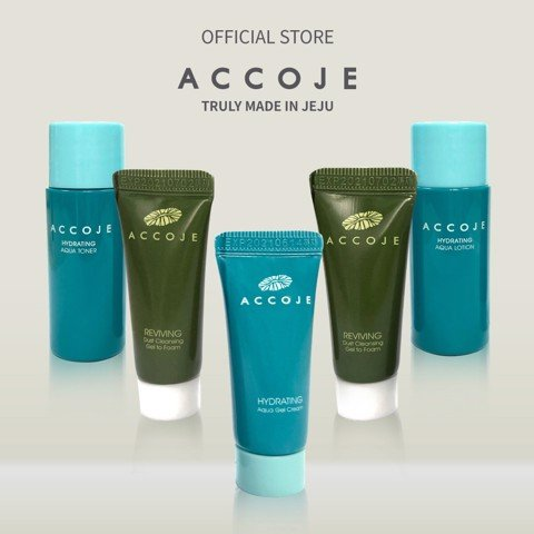 [Gift] Combo 01 Sample Hydrating trial set 45ml + 02 Gel to foam 7ml