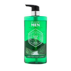 Sữa Tắm Purité Men Mát Lạnh 700ml   | Purité Men Mountain Cool Shower Gel 700ml