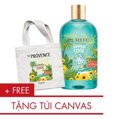 Sữa Tắm Mát Lạnh Purité 500ml | Purité Summer Cool Shower Gel 500ml