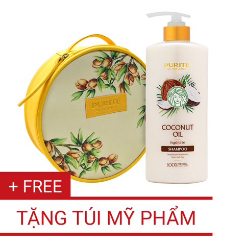 Dầu Gội Coconut Oil 650ml | Coconut Oil Shampoo 650ml