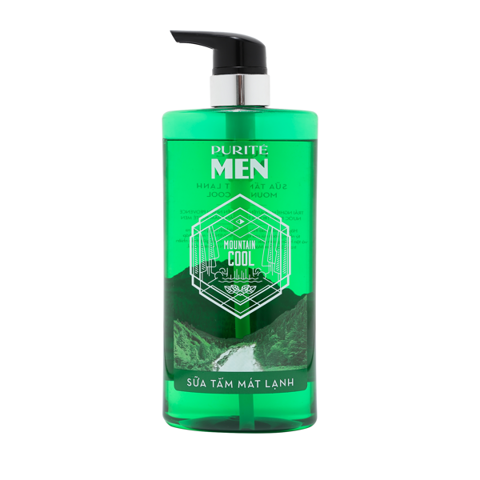 Sữa Tắm Purité Men Mát Lạnh  | Purité Men Mountain Cool Shower Gel