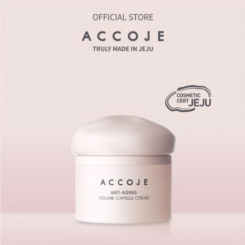 Mua Accoje Anti-aging Volume Capsule Cream Tặng Anti Aging Essential Firstner [Trị giá 790.000đ]