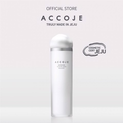 Mua Accoje Whitening Moisture Milky Emulsion Tặng Hydrating Trial Kit 23ml + Gel to Foam 7ml