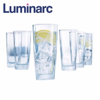 Bộ 6 ly thủy tinh cao Luminarc Sterling 330ml G2519 (Trong suốt)