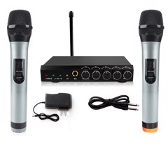 ARCHEER Microphone System VHF Dual Chanel Bluetooth