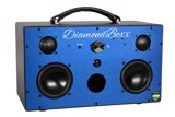 DiamondBoxx  MODEL M - DURATEX BLACK W/ BLACK ANODIZED FACE