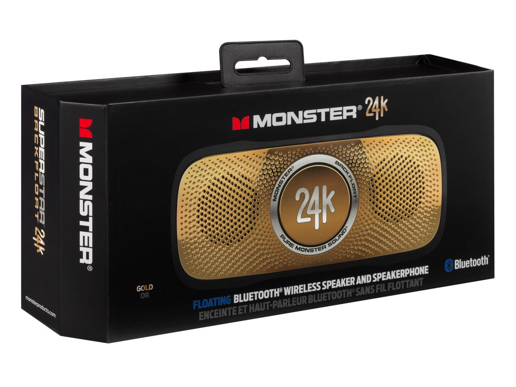 MONSTER SUPERSTAR BACKFLOAT 24K GOLD