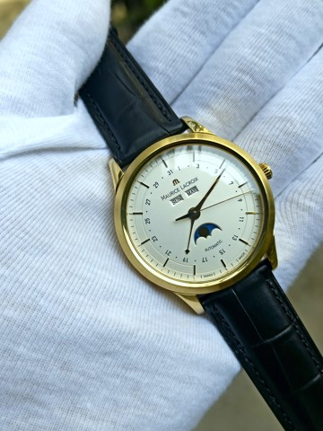 Maurice Lacroix Les Classic Solid Moonphase Gold 18k - Soldout